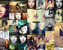 180套人物照片调色动作PS素材