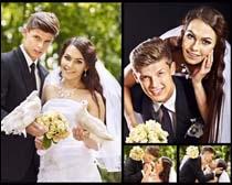 夫妻婚礼摄影高清图片