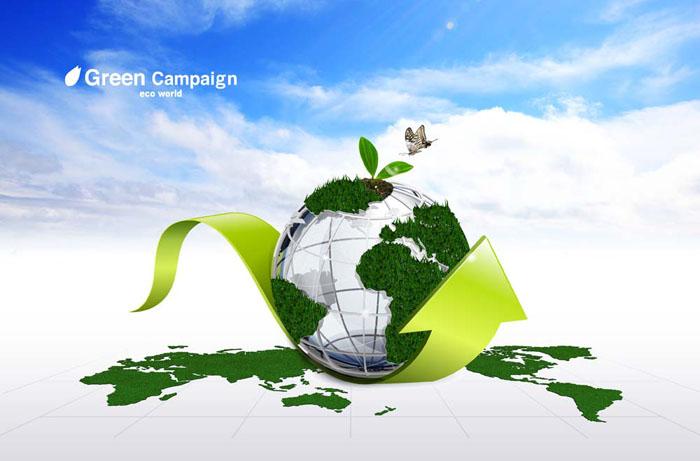 创意环保地球科技psd素材 - 爱图网设计图片素材下载图片