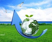 绿色生态环保PSD素材