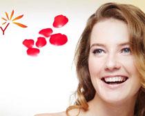 香水与美女模板PSD素材