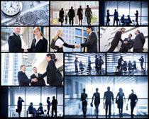 商务成功人士合作高清图片