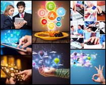 现代商务与数码科技高清图片