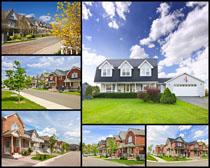 別墅建筑景觀高清圖片