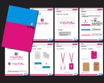 时尚VI设计矢量素材