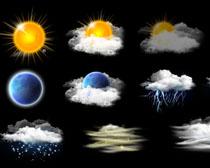 天气图标PSD素材