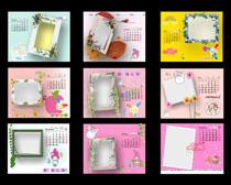 相册相框日历模板PSD素材