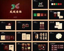 凤城国际地产VI设计矢量素材
