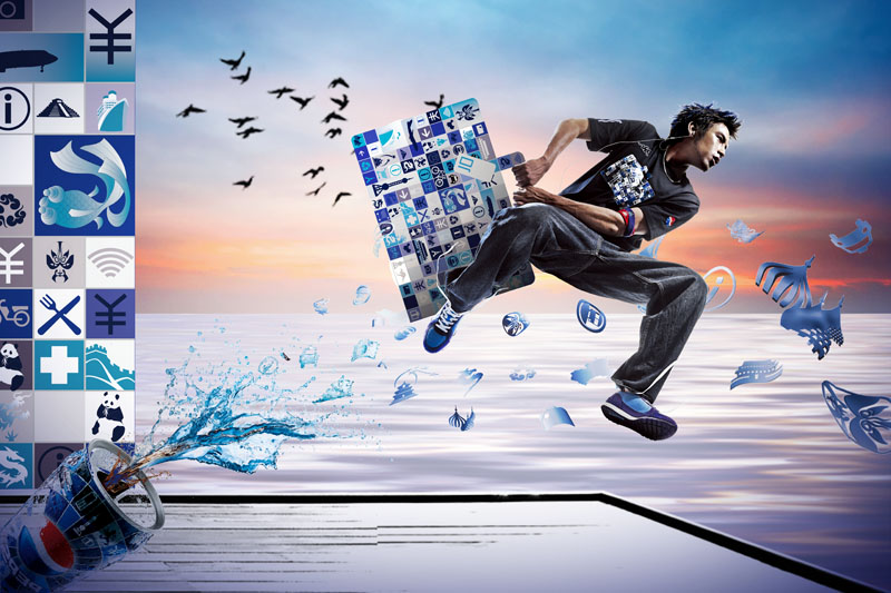 爱图首页 psd素材 广告海报 > 素材信息   关键字: 运动服装创意广告