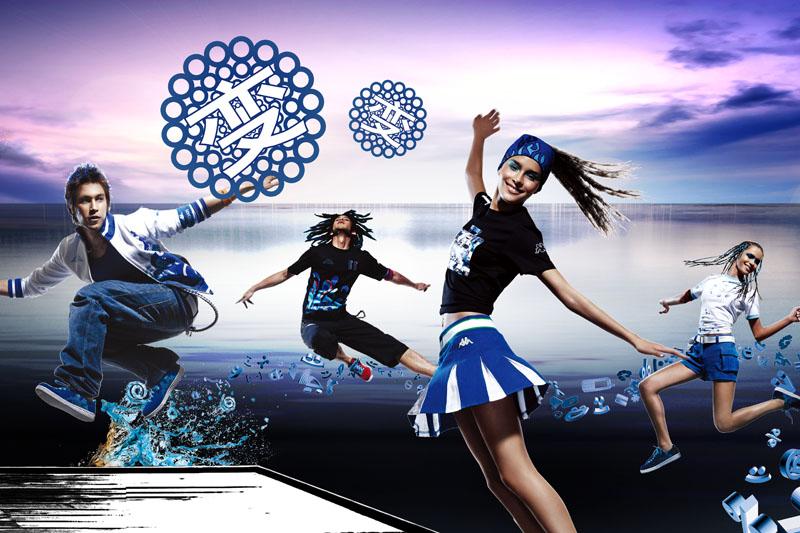 广告海报 > 素材信息   关键字: 运动服装时尚服装服装广告创意海报
