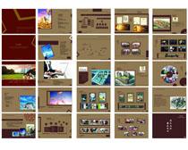 经典房地产广告画册矢量素材