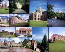 国外城堡美丽风景高清图片