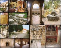 欧美城堡痕迹摄影高清图片