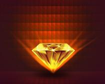 发光钻石PSD素材