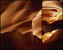 抽像石头无框画高清图片