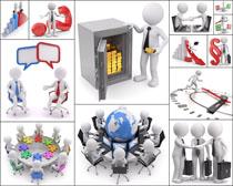商业3D小人物高清图片