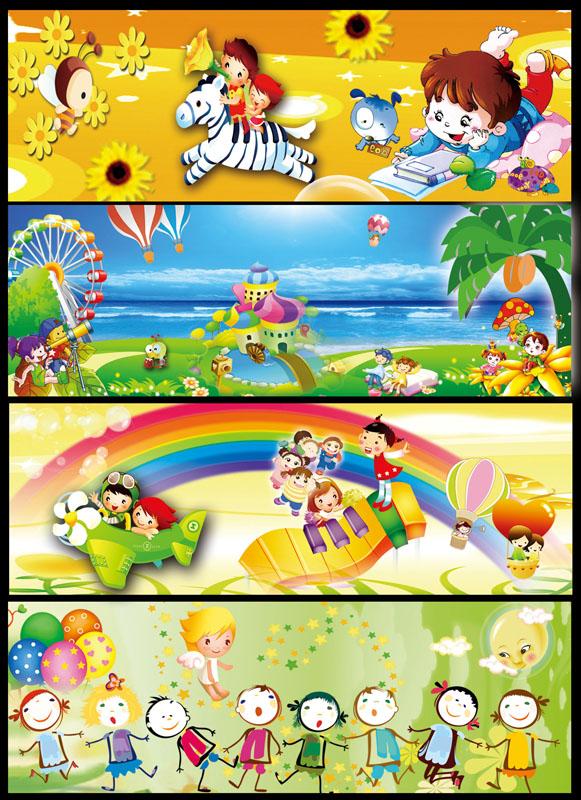 关键字: 幼儿园广告展板模板墙体广告卡通斑马卡通画热气球海洋椰