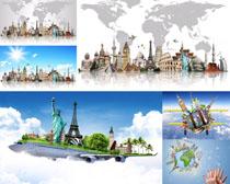 旅游景点建筑摄影高清图片