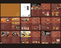 古典西式餐厅菜谱菜单设计时时彩平台娱乐