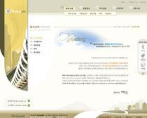 企業公司首頁模板設計PSD素材