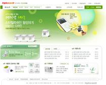 公司产品介绍页面模板PSD素材