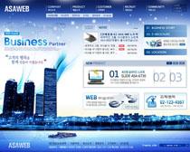 韩国数码产品公司网页设计PSD源文件