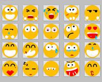 可爱表情PNG图标