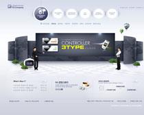 韩国手机网站模板PSD源文件
