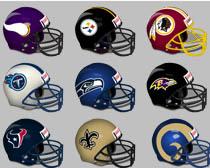 超全橄榄球头盔PNG图标