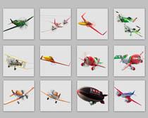 飞机战斗机模型PNG图标
