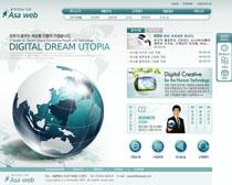 数码通信网络网站PSD源文件