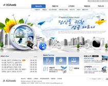 科技网络公司网站设计PSD源文件