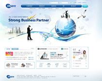 创想科技企业网站PSD源文件