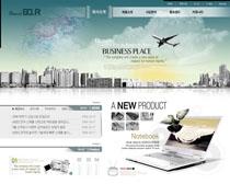 展望未來韓國網頁PSD源文件