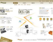 數碼產品韓國網站設計PSD源文件