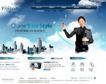 韩国讲师网页设计PSD源文件