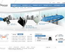 韩国数码科技网页设计PSD源文件