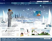 企业公司形像网站PSD源文件