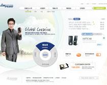 手机数码网站设计PSD源文件
