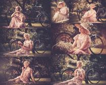 怀旧女人摄影高清图片