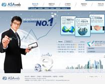 商务韩国网站PSD源文件