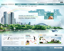 韩国地产网站PSD源文件