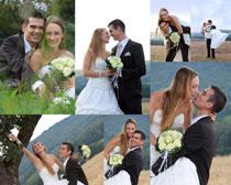 户外婚纱夫妻摄影高清图片