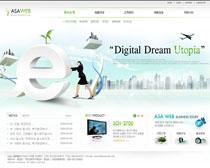 韩国E网时代网站PSD源文件