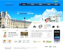 韩国建筑网站PSD源文件