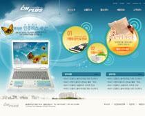 电脑数码网页设计PSD源文件