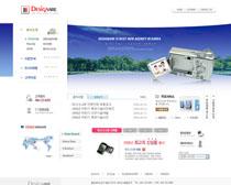 韩国数码相机网站PSD源文件