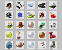 体育运动项目PNG图标