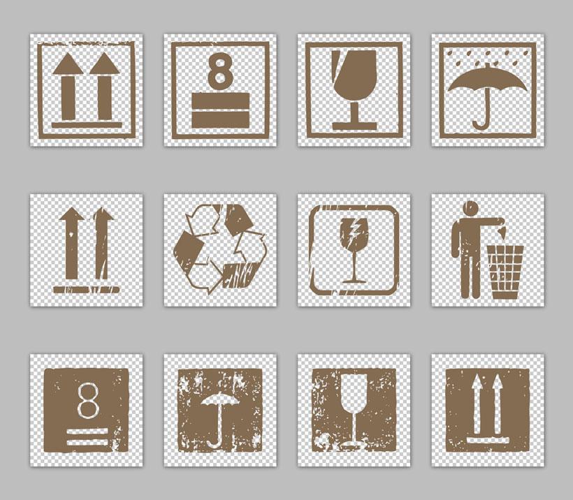 纸箱标志png图标 - 爱图网设计图片素材下载