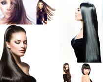 发型女人模特摄影高清图片